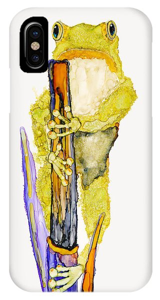 Just Standing Here IPhone Case