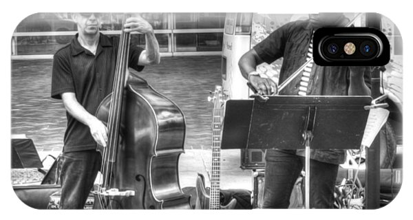 IPhone Case featuring the photograph Just The Strings by Michael Colgate