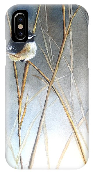 Cold iPhone Case - Just Thinking by Patricia Pushaw