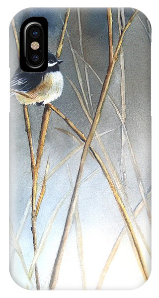 Bird iPhone Case - Just Thinking by Patricia Pushaw