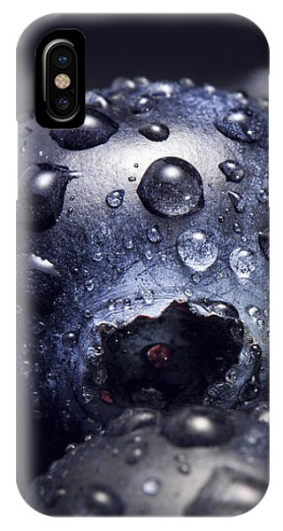 Blueberry iPhone Case - Just Washed by Happy Home Artistry