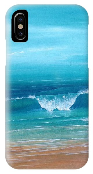 Just Waving IPhone Case