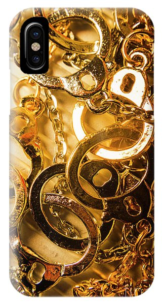 Jewelery iPhone Case - Justice Is Golden by Jorgo Photography - Wall Art Gallery
