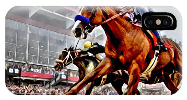 Justify Wins Preakness IPhone Case