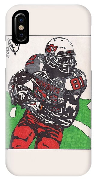Justin Blackmon 2 IPhone Case