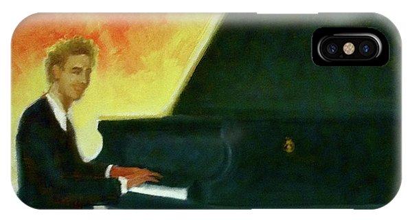Justin Levitt Red Black Yellow IPhone Case