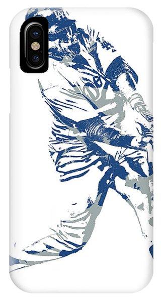 8a2fd2f1703 Los Angeles Dodgers iPhone Case - Justin Turner Los Angeles Dodgers Pixel  Art 10 by Joe