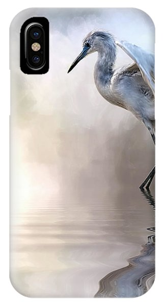 Juvenile Heron IPhone Case