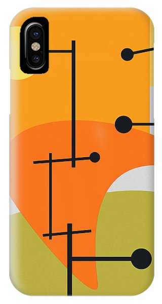 Retro iPhone Case - Juxtaposing Thoughts by Richard Rizzo