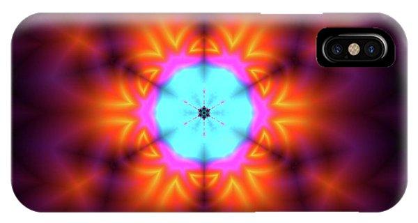 IPhone Case featuring the digital art Jyoti Ahau 216 by Robert Thalmeier