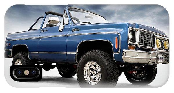 Truck iPhone Case - K5 Blazer by Douglas Pittman