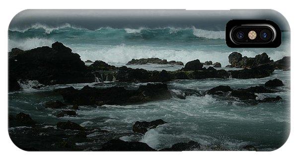 Ka Makani Kaiili Aloha Hookipa Maui Hawaii  IPhone Case