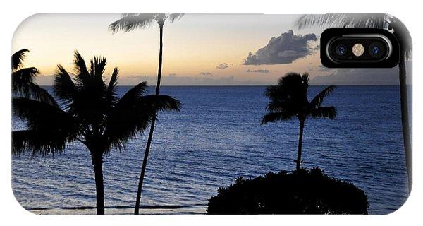 Ka'anapali Beach Maui Phone Case by Rosy Kueng