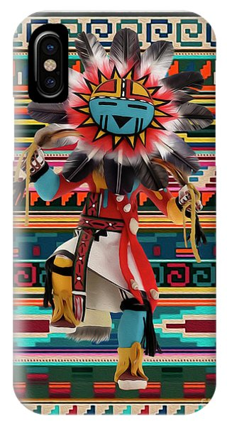 Kachina Doll Art IPhone Case