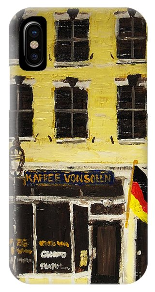 Kaffee Vonsolln IPhone Case