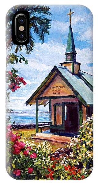 kahaalu Church Hawaii IPhone Case
