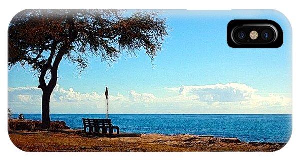 Kahe Point Beach Park IPhone Case