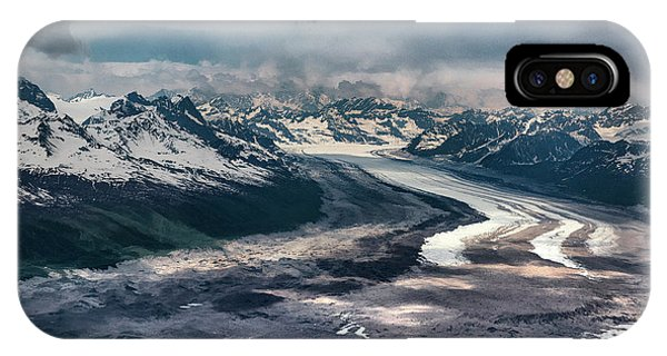 Kahiltna Glacier IPhone Case