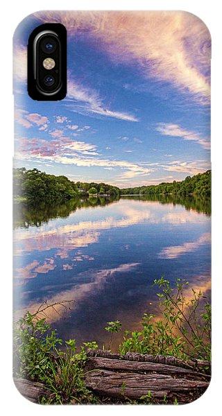 Kahler's Pond Clouds IPhone Case