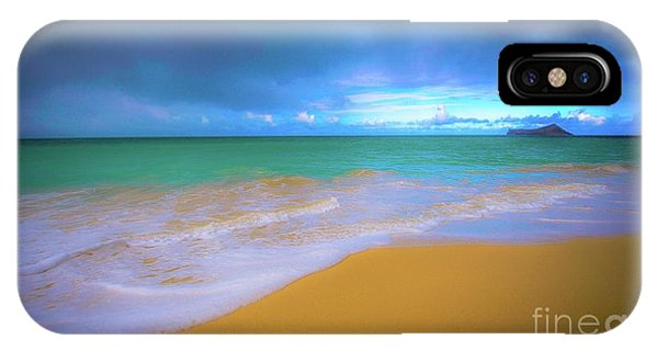 Seascape, Kailua - Lanikai, Oahu, Hawaii IPhone Case