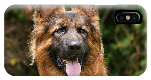 Kaiser - German Shepherd IPhone Case