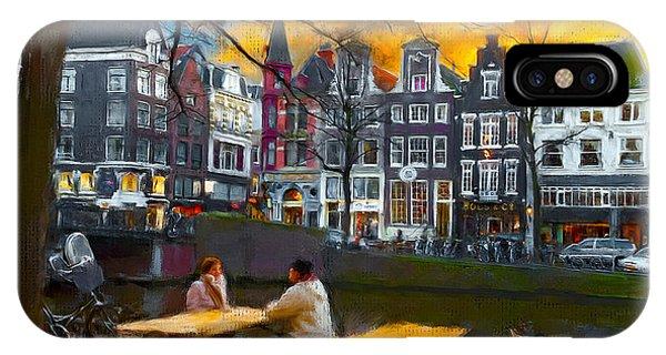 Kaizersgracht 451. Amsterdam IPhone Case