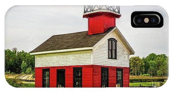 Kalamazoo Lighthouse IPhone Case