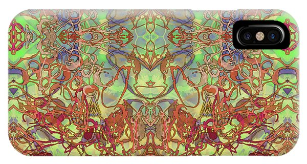 Kaleid Abstract Tapestry IPhone Case