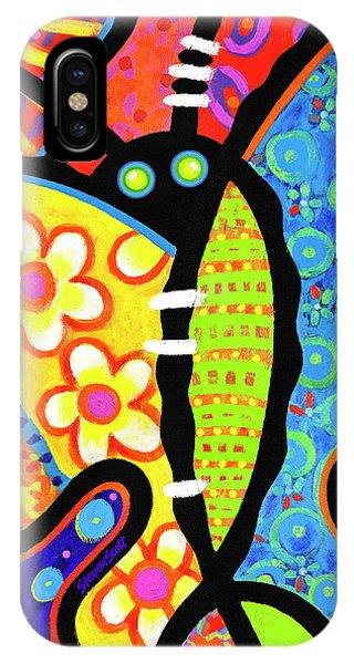 Kaleidoscope Butterfly IPhone Case