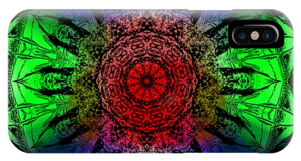 IPhone Case featuring the digital art Kaleidoscope by Deleas Kilgore