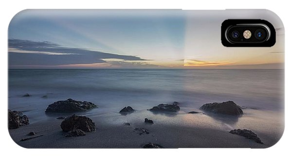 IPhone Case featuring the photograph Kaleidoscope  Sunset by Paul Schultz