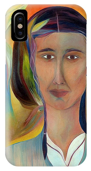IPhone Case featuring the painting Kalf by Linda Cull