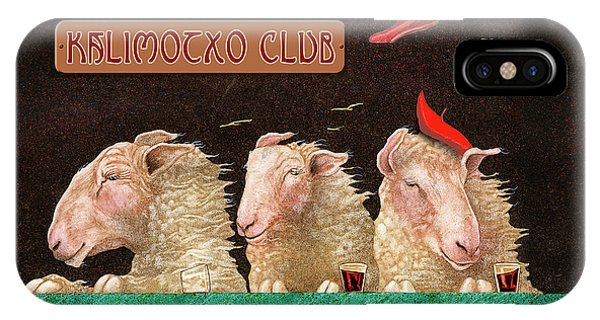 Kalimocho Club... IPhone Case