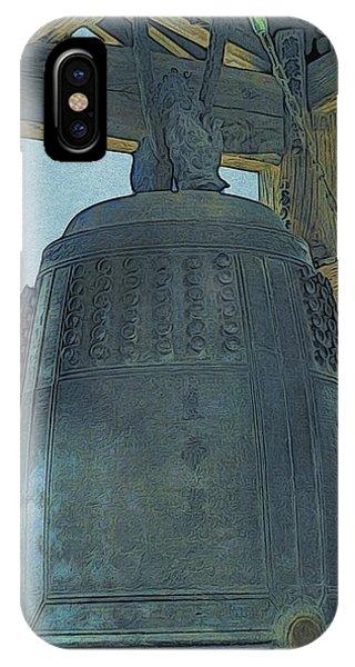Kamakura Engaku-ji Bell IPhone Case