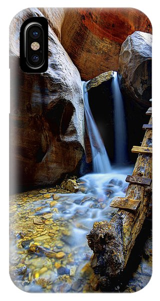Creek iPhone Case - Kanarra by Chad Dutson