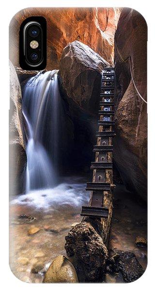 Kanarraville Falls IPhone Case