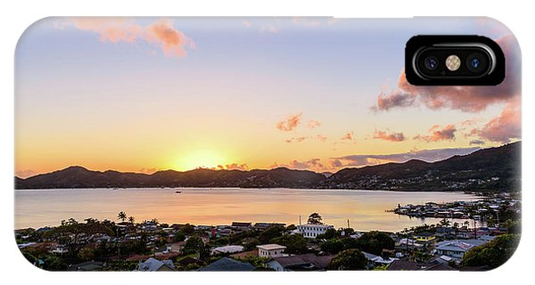 Kaneohe Bay Sunrise 1 IPhone Case