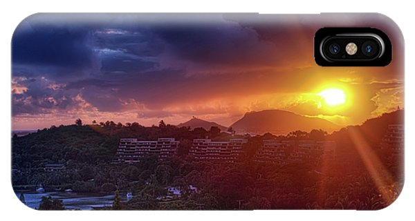 Kaneohe Sunrise IPhone Case