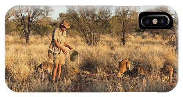 Kangaroo Sanctuary IPhone Case