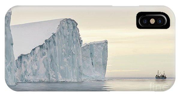 Glacier Bay iPhone Case - Kangerlua by Janet Burdon