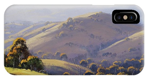 Nature Scene iPhone Case - Kanimbla Hillscape, Australia by Graham Gercken