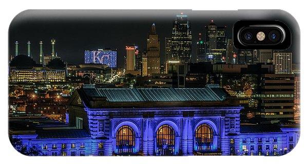 Kansas City In Royal Blue IPhone Case