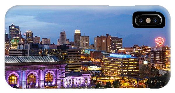 Kansas City Night Sky IPhone Case