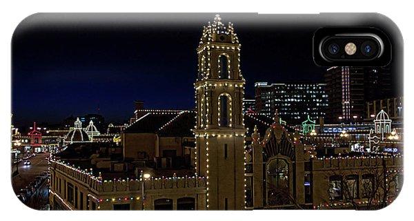 Kansas City Plaza Lights IPhone Case