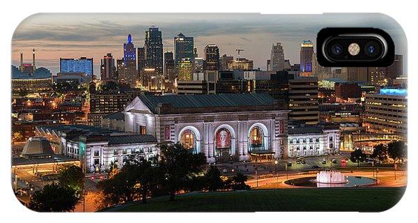 Kansas City Summer Sunset IPhone Case