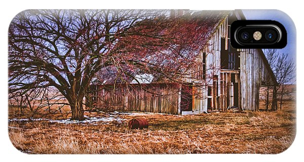 Kansas Countryside Old Barn IPhone Case