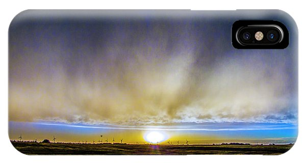 Kansas Storm Chase Bust Day 005 IPhone Case