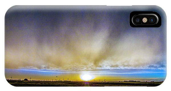 IPhone Case featuring the photograph Kansas Storm Chase Bust Day 005 by NebraskaSC