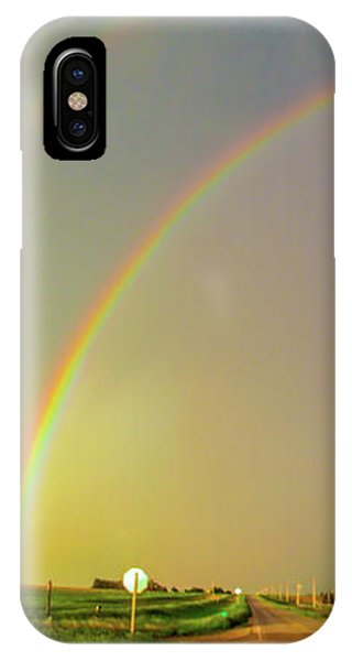 Nebraskasc iPhone Case - Kansas Storm Chase Bust Day 006 by NebraskaSC