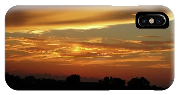 Kansas Summer Sunset IPhone Case